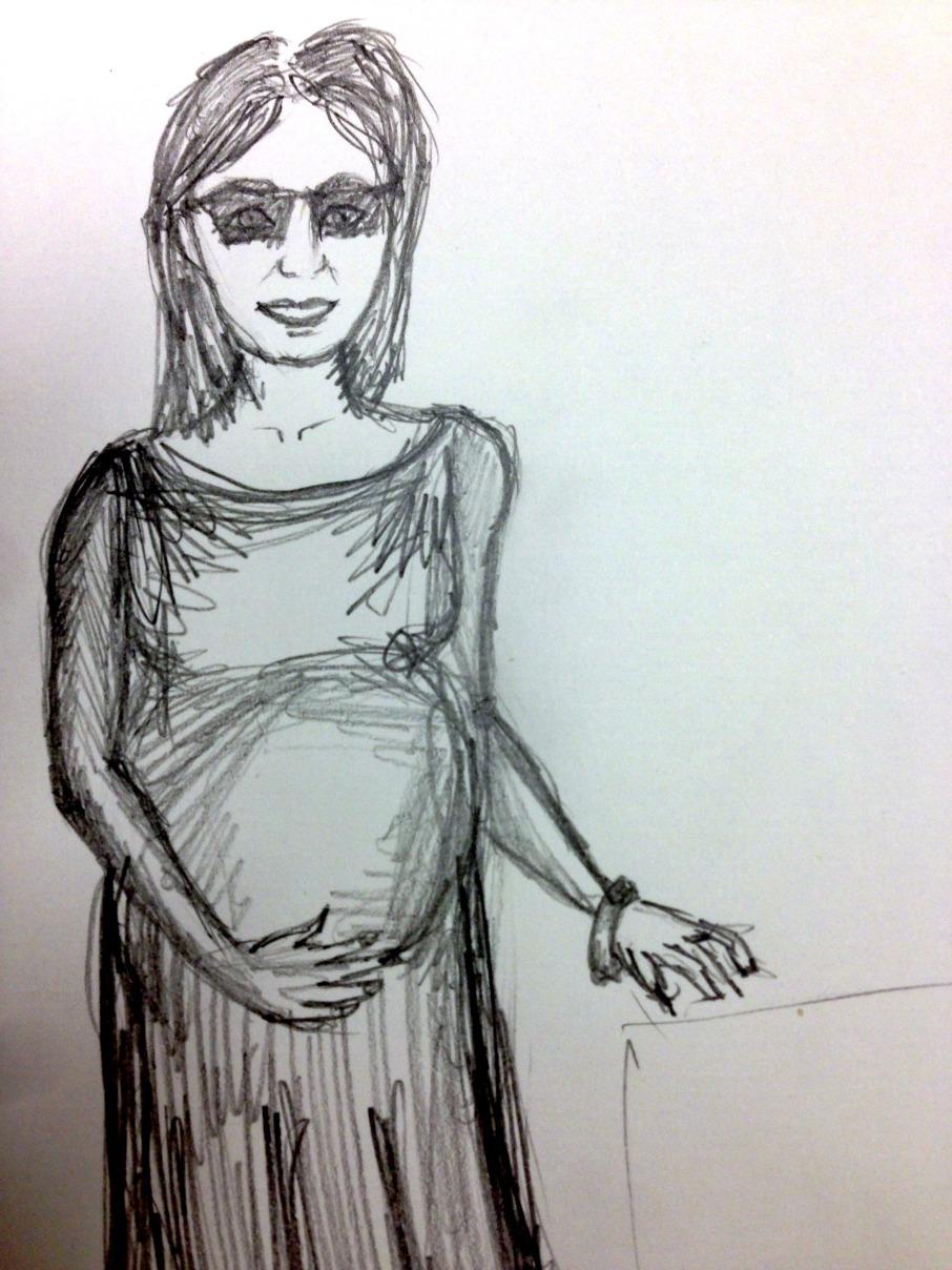 pregnant chick take 2